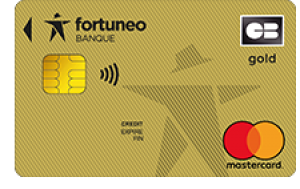 Gold MasterCard Fortuneo